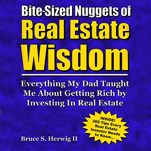 Bite-Sized Nuggets of Real Estate Wisdom audiobook cover art
