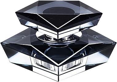 Car Perfume Crystal Car Air Freshener Perfume Bottle for Car Decoration [Black] #01