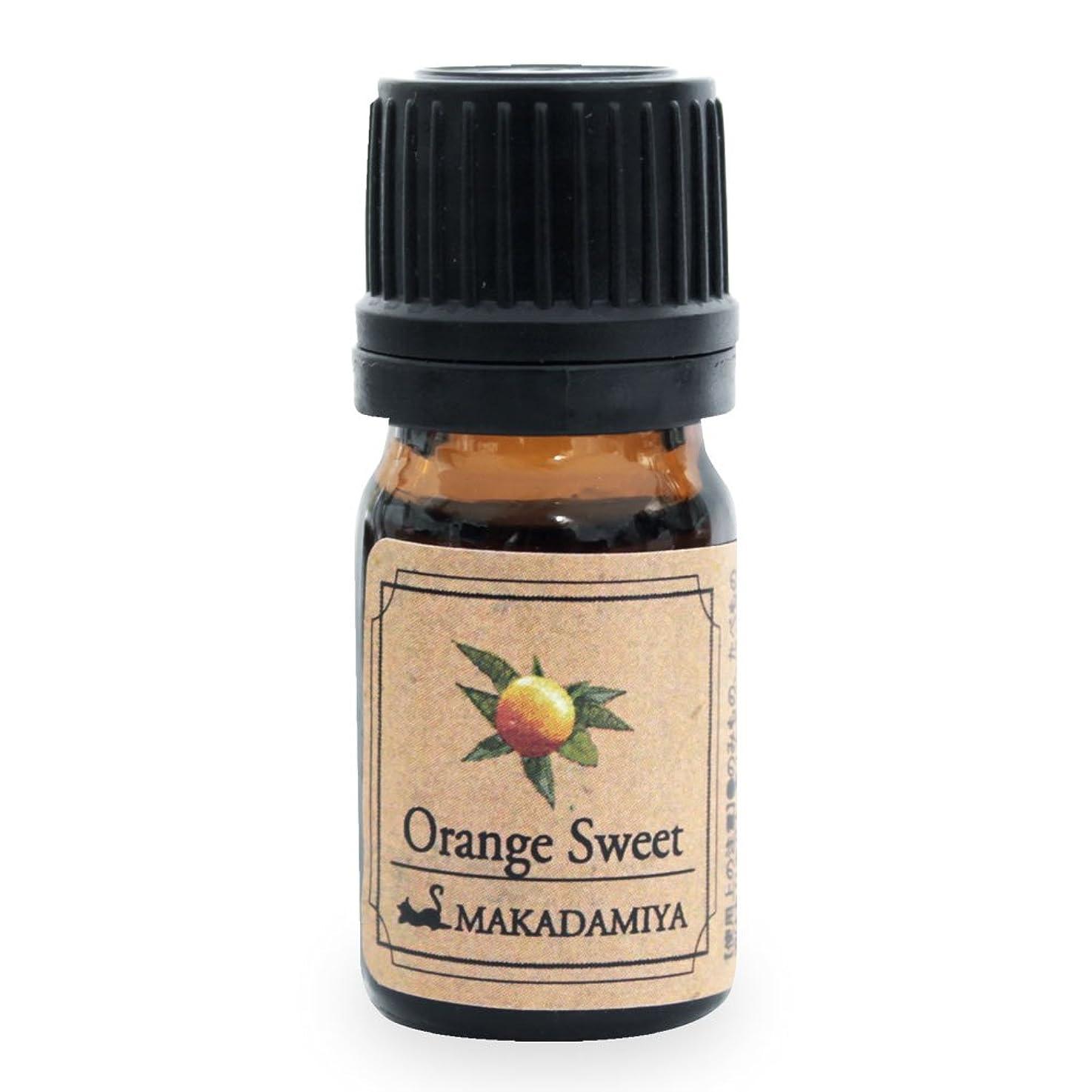 短くするガラス偶然オレンジ?スイート5ml 天然100%植物性 エッセンシャルオイル(精油) アロマオイル アロママッサージ aroma Orange Sweet