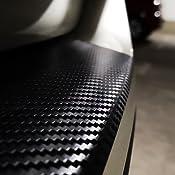 T5 Ladekantenschutz Lackschutzfolie Mit Profi Rakel In 3d Carbon Schwarz Auto