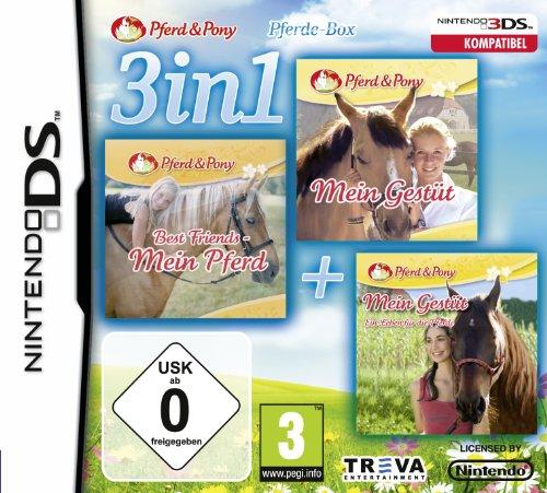 3 in 1: Mein Pferd + Mein Gestüt + Mein Gestüt - Ein Leben für die Pferde - [Nintendo DS]