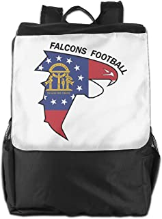 XIVEIER Personalized Georgia Flag Football Geek Backpack For Girls
