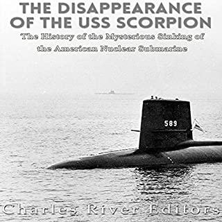 The Disappearance of the USS Scorpion cover art
