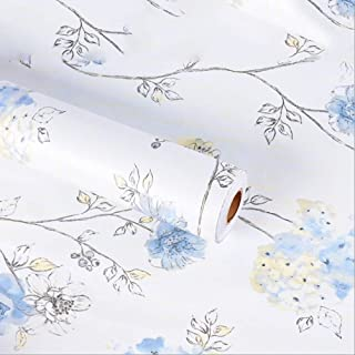 Amao Colorful Animal Map PVC Self-Adhesive Paper Shelf Liner Peel and Stick Wallpaper for Counter Top Bedroom Home Decor 17.7''x78.7''