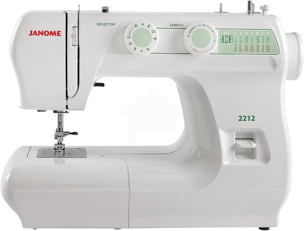 6. Janome 2212 – Affordable