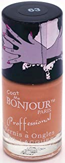 Bonjour Paris Nude Nail Lacquer, Carrot Beige, 18ml