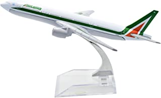 TANG DYNASTY 1/400 16cm アリタリア航空 Alitalia airlines ボーイング B777 高品質合金飛行機プレーン模型 おもちゃ
