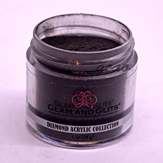 Diamond Acrylic Powder, 1 Ounce-Black Lace