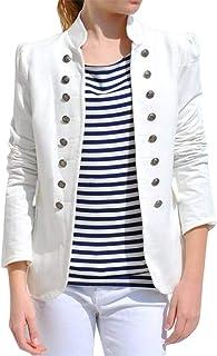 comprar comparacion Vectry Black Friday 2019 Rebajas Mujer Invierno Cálido Vintage Chaqueta De Abrigo Chaqueta Abrigo Outwear Botones Uniforme...