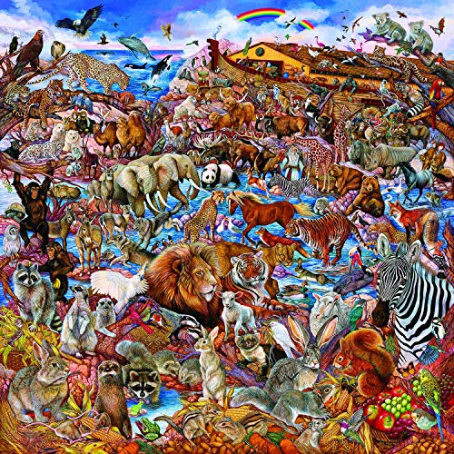 Noah'S Clearing Puzzles for Adults, 300 Piece Kids Jigsaw Puzzles Game Toys Gift for Children Boys and Girls, 10' x 15'