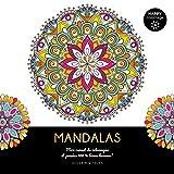 Mandalas - Happy coloriage - Mon carnet de coloriages & messages 100 % bonne humeur !