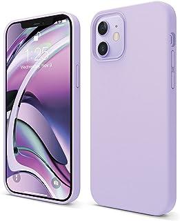 """elago Liquid Silicone Case Compatibel met iPhone 12 Hoesje & Compatibel met iPhone 12 Pro Hoesje (6,1"""") - Vloeibaar Silico..."""