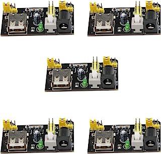 VKLSVAN 5個 セット MB102 ブレッドボード 専用電源 3.3V 5V ブレッドボード 電源モジュール Arduinoに対応
