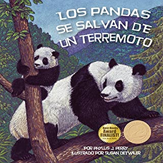 Los pandas se salvan de un terremoto [Pandas Are Saved from an Earthquake] audiobook cover art