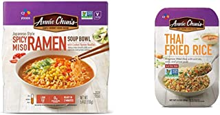 Annie Chun's Spicy Miso Ramen Noodle Bowl | Non-GMO, Vegan, Shelf-Stable (Pack Of 6) | Japanese-Style Savory Ready Meal & ...