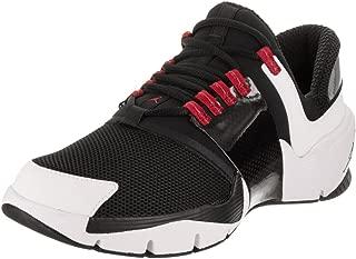Nike Men's Alpha Trunner Black/Black White Gym Red Training Shoe 8 Men US