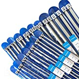 "Best Knitting Needle Sets - Aluminium Knitting Needles, Single Pointed Set. 35cm(14"") long Review"