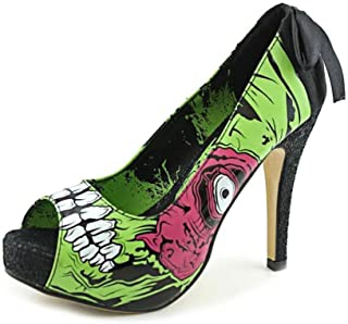 Iron Fist Hey You Guys Chinese Pumps Shoes Womens Black Footwear Women's Shoes Clothing, Shoes & Accessories