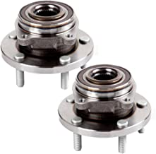 ECCPP Replacement for Pair of 2 New Complete Front Wheel Hub Bearing Assembly 5 Lugs w/ABS for 2008-2014 Dodge Avenger Chrysler Sebring 513263¡Á2