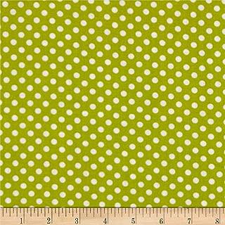 Newcastle Fabrics Polka Dot Lime, Fabric by the Yard