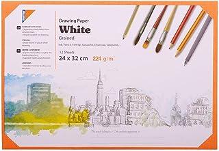 حافظة ورق رسم اكتيفتي من مينترا 24x32 سم، أبيض