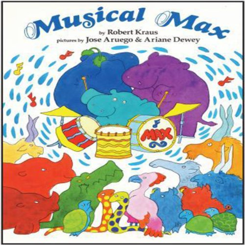 Musical Max audiobook cover art