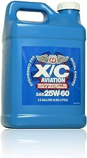 Phillips 66 X/C Aviation Oil 25w-60 Engine Oil - 2/2.5 gal. case