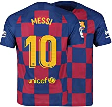 BCNofficial #10 Messi Barcelona Soccer Jersey Shorts Socks for Kids and Youth