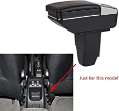 LUVCARPB Car Armrest Storage Box,Fit for Peugeot 206 2005-2008 207 2008-2013