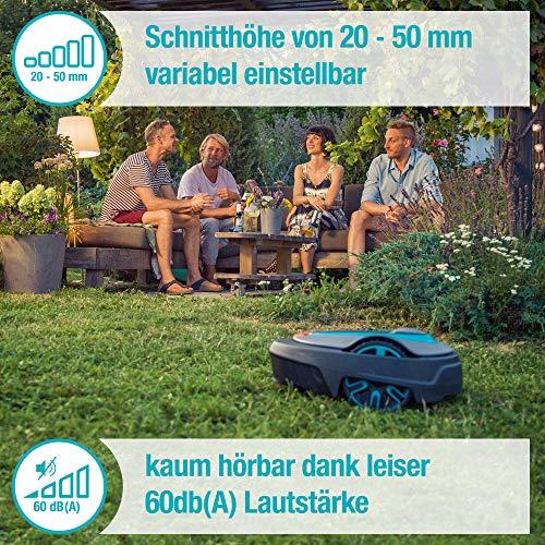 Gardena smart Sileno Set city 500: Mähroboter bis 500 m² Rasenfläche mit App Steuerung - 3