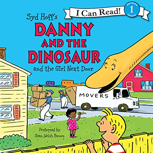 『Danny and the Dinosaur and the Girl Next Door』のカバーアート