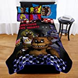 Franco Manufacturing Five Nights At Freddy's Furious Five Kids' Bedding Blanket, Twin, 62 x 90#188587358