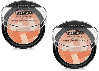 Pack of 2 Maybelline Face Studio Master Hi-Light Blush, 30 Coral