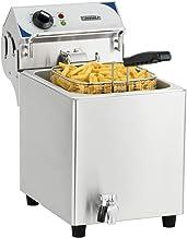 Casselin Cfev7 Elektrische friteuse met afvoerventiel, 7 liter