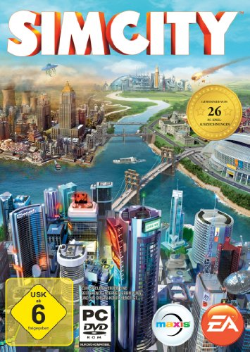 Electronic Arts SimCity, PC - Juego (PC, PC, Simulación, E10 + (Everyone 10 +))