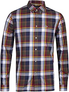 Lacoste LS Poplin Check Shirt