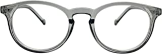 clear frame wayfarer reading glasses