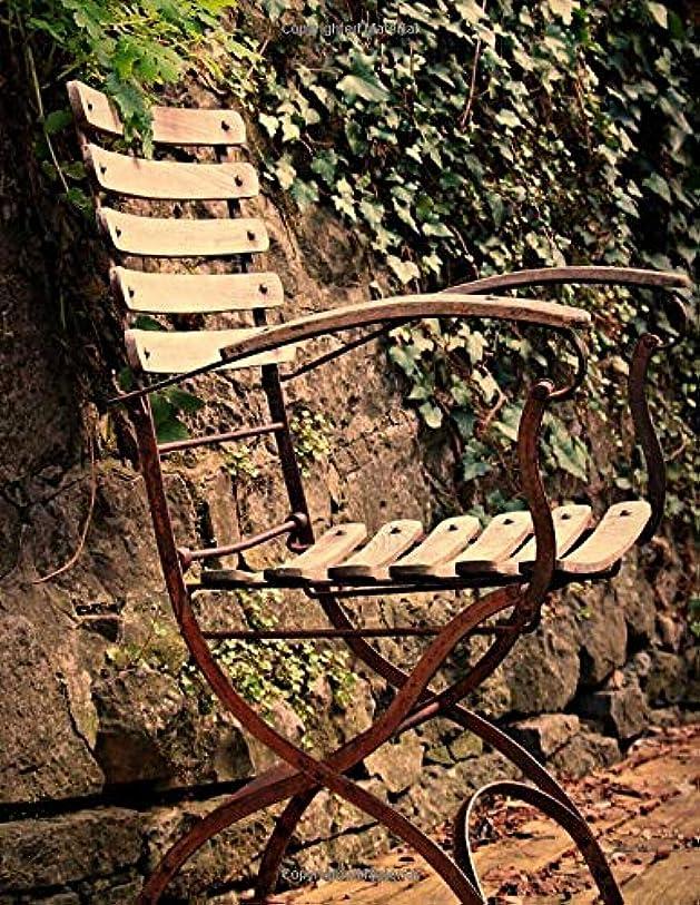 外科医拳申し立てNotebook: Chair seating furniture outdoor out ivy fern garden design gardening outdoor relaxing relax peace