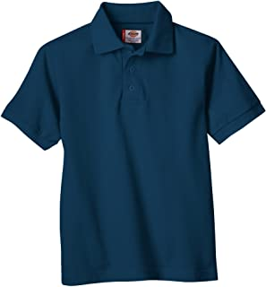 Dickies Boys' Short Sleeve Pique Polo