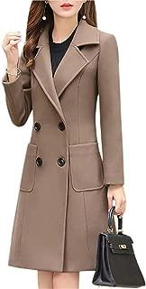 Surprise S Women Jacket Overcoatt Warm Wool Female Coatt Large Slim Blend Clothes Outerwear