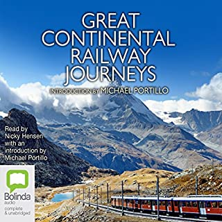 Great Continental Railway Journeys cover art