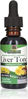 Nature's Answer Liver Tone Alcohol Free 1 Fluid Ounce   Promotes Healthy Liver Function   Natural Cleanser & Detoxifier   ...