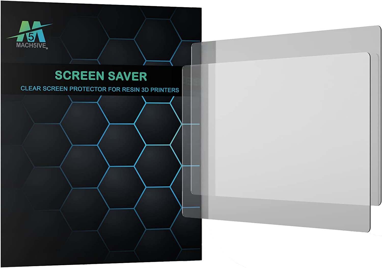 Mach5ive Screen Saver- Clear Protector for 3D Max 68% OFF Our shop OFFers the best service Resin Print
