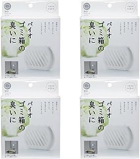 【セット品】バイオ ゴミ箱の臭いに 消臭剤 無香タイプ (交換目安:約3カ月) (4個)