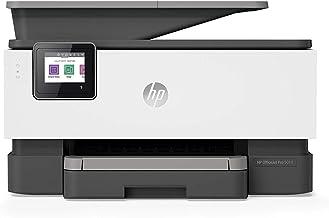 HP OfficeJet Pro 9010 - Impresora multifunción (imprime, copia, escanea, fax, Pantalla táctil en color, Memoria 512 MB, impresión y escaneado a doble cara, Wi-Fi), color basalt