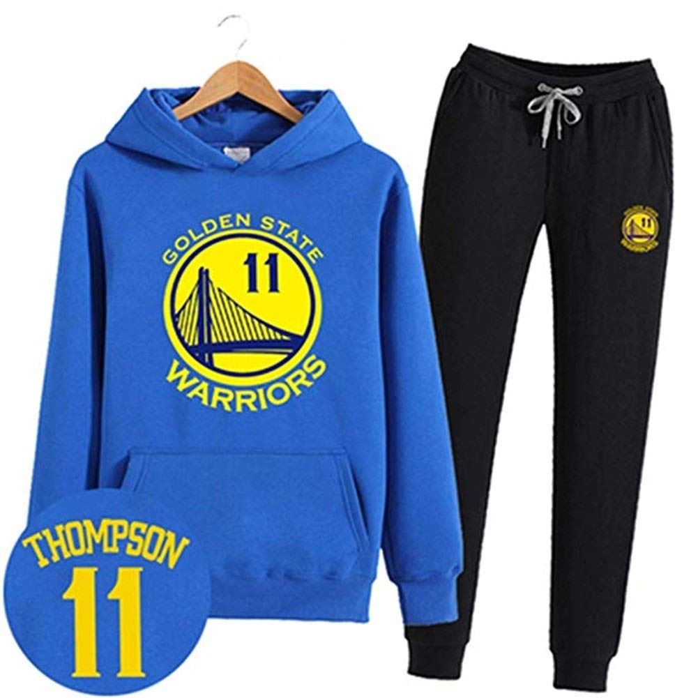 Ldwxxx Camisa con Capucha Camisa con Capucha de la NBA Camiseta de Baloncesto del MVP Fan Jersey Golden State Warrior Stephen Curry/Kevin Durant (Color : Blue11, Size : XXXXXL): Amazon.es: Hogar