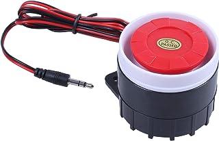 Semoic Mini Sirene Alarme cablee pour le systeme dalarme de securite a domicile 120dB 12V