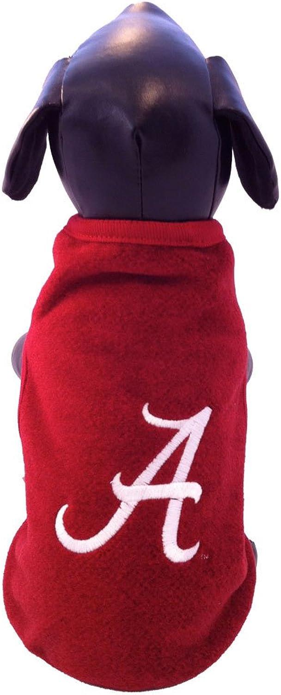 NCAA Alabama Crimson Tide Polar Fleece Dog Sweatshirt