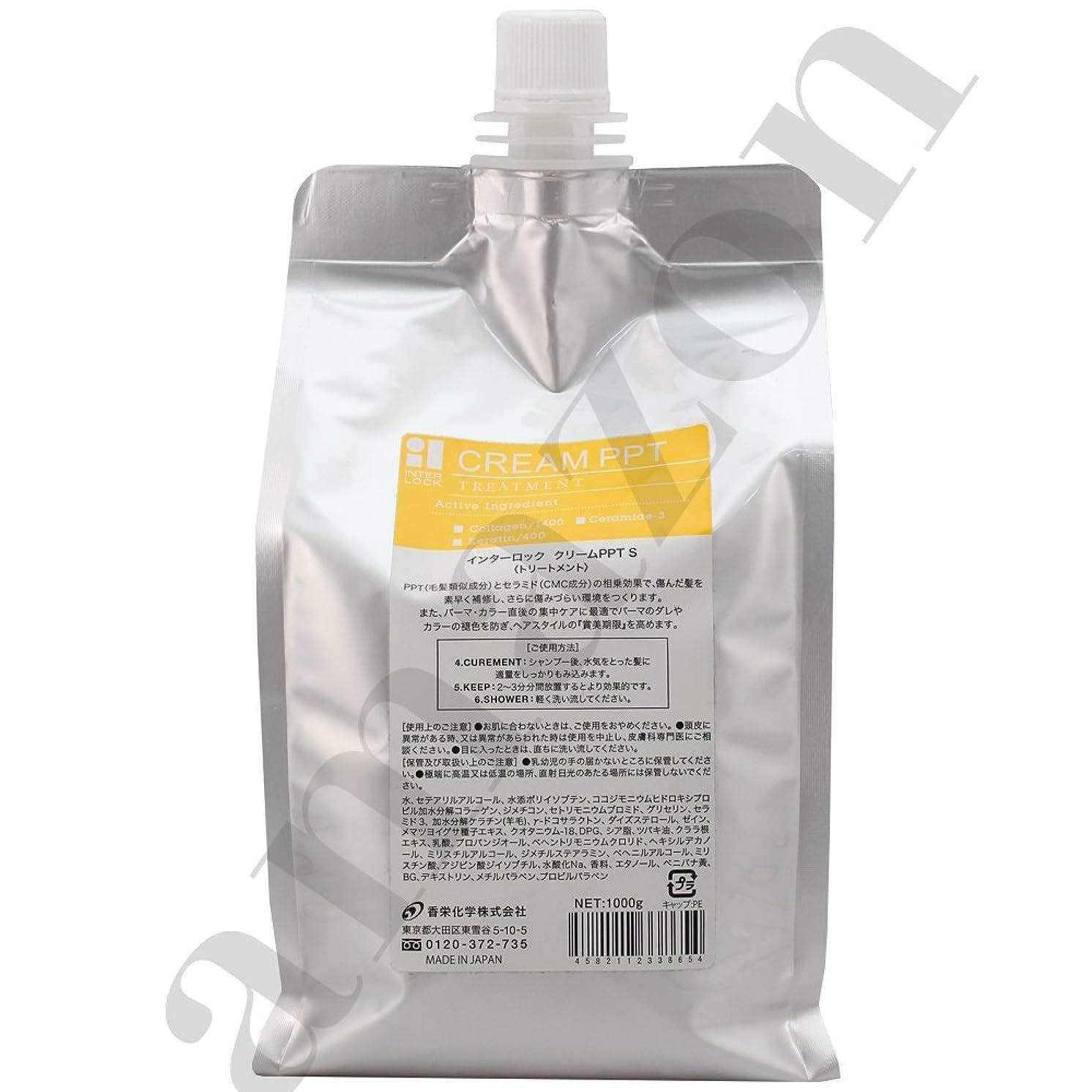 ライオン崖話香栄化学 インターロック クリームPPT S レフィル 1000g