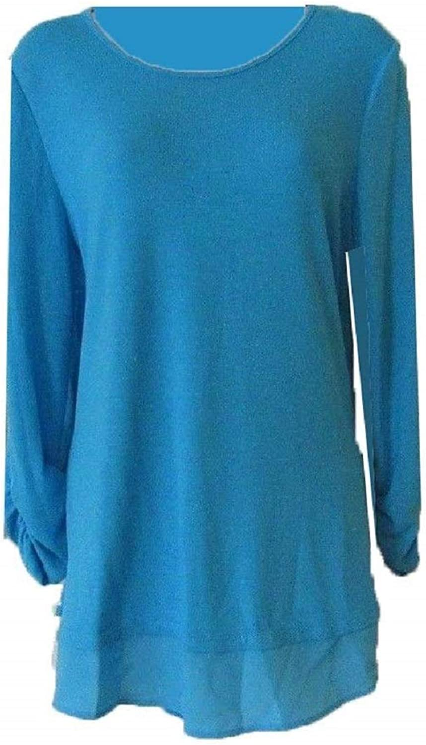 Grace Elements Womens 3 4 Sleeve Top